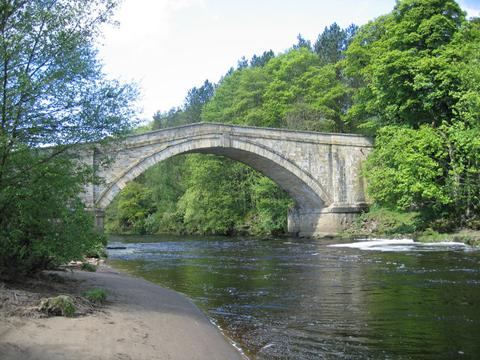 our handfasting bridge