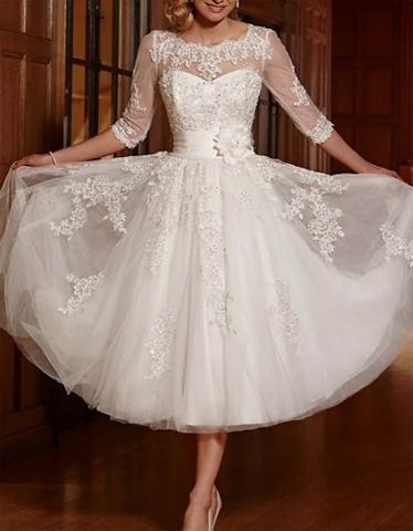 robin wedding dress